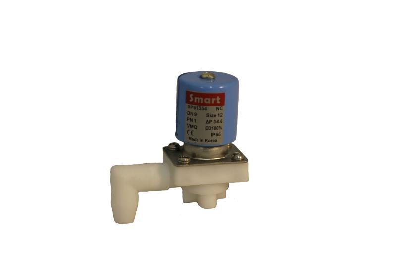 Клапан электромагнитный пластиковый нормально-закрытый SMART SP61354 (DC12V, DC24V)