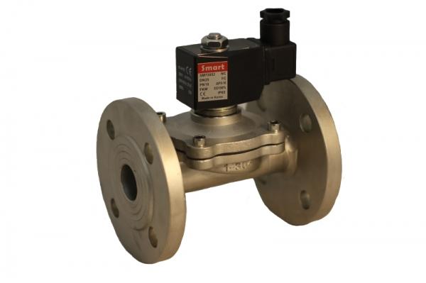 Клапан электромагнитный стальной нормально-открытый SMART SM7207 (AC220V, AC24V, DC12V, DC24V)