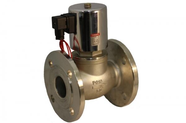 Клапан электромагнитный поршневой стальной Н.З. SMART SL7555F (AC220V, DC24V)