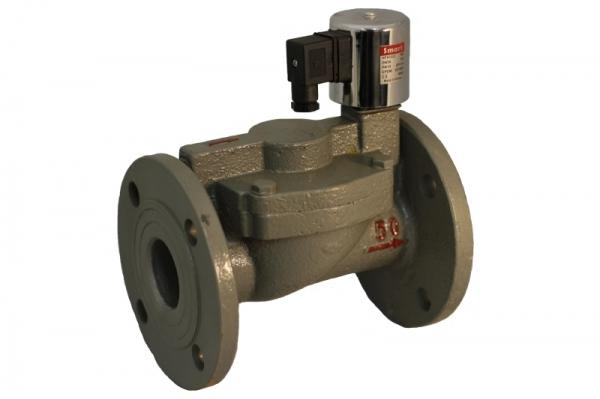 Клапан электромагнитный чугунный Н.О. SMART HF6504 (AC220V, DC24V)