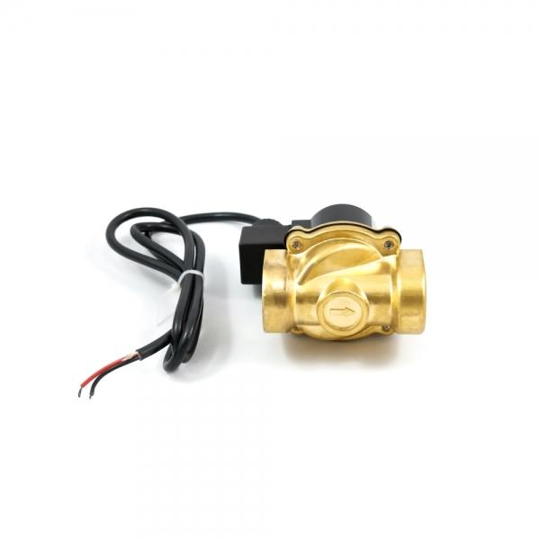 Клапан электромагнитный латунный нормально-закрытый ARM DR03 (AC24V, DC12V, DC24V) IP68