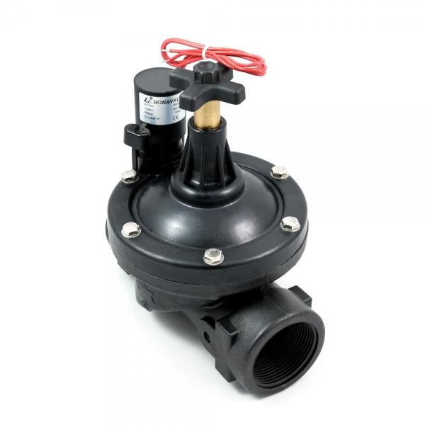 Клапан соленоидный пластиковый нормально-закрытый ARM PGV (AC24V, DC24V)