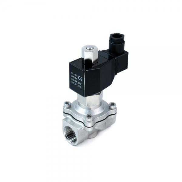Клапан электромагнитный стальной нормально-открытый SMART SM5564S (AC220V, AC110V, AC24V, DC12V, DC24V)