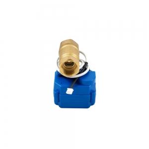 Двухходовой шаровый кран с электроприводом (сервоприводом) ARM CR03 (DC9-24V)_2