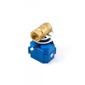Двухходовой шаровый кран с электроприводом (сервоприводом) ARM CR03 (DC9-24V)_1