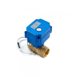 Двухходовой шаровый кран с электроприводом (сервоприводом) ARM CR03 (DC9-24V)_0