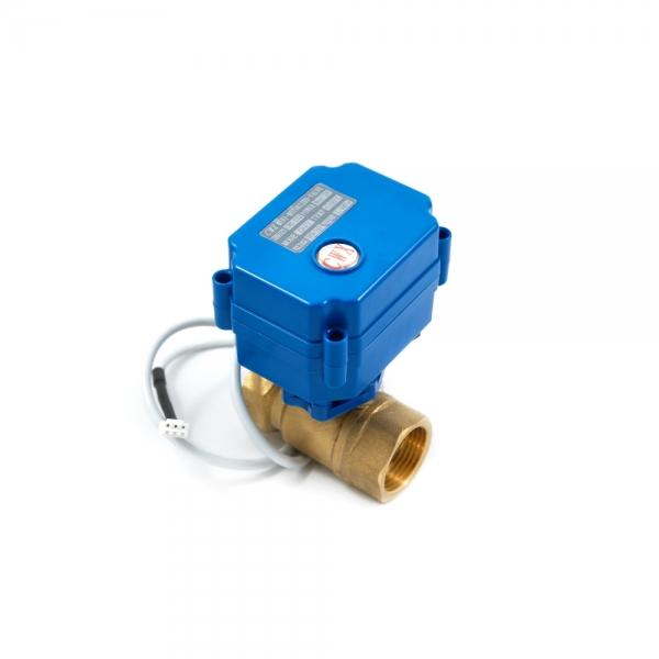Двухходовой шаровый кран с электроприводом (сервоприводом) ARM CR03 (DC9-24V)