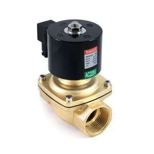 Клапан электромагнитный латунный нормально-закрытый SMART SM5563 (AC220V, AC110V, AC24V, DC12V, DC24V)_2