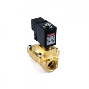 Клапан электромагнитный латунный нормально-открытый SMART SG5534 (AC220V, AC24V, DC12V, DC24V)_0