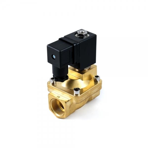 Клапан электромагнитный латунный нормально-открытый SMART SG5534 (AC220V, AC24V, DC12V, DC24V)