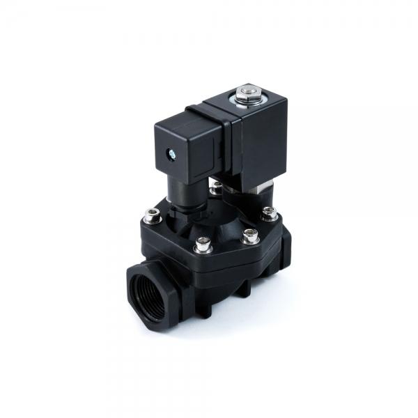 Клапан электромагнитный пластиковый нормально-закрытый SMART SF6232 (AC220V, DC12V, DC24V)