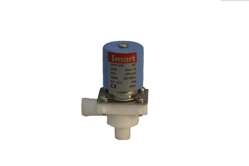 Клапан электромагнитный пластиковый нормально-закрытый SMART SP61353 (DC12V, DC24V)