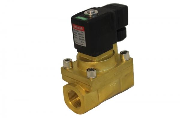 Клапан соленоидный поршневой нормально-закрытый SMART SB5592 (AC220V, AC24V, DC12V, DC24V)