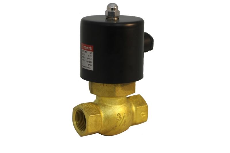 Клапан соленойдный поршневой нормально-закрытый SMART SL5575 (AC220V, DC24V)