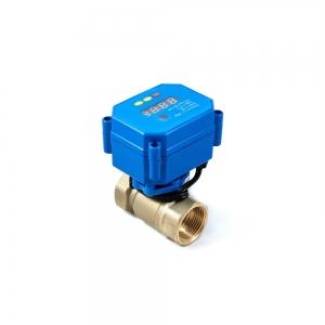 Кран шаровый с электроприводом (сервоприводом) и таймером A20S (AC220V, DC9V-24V)_0