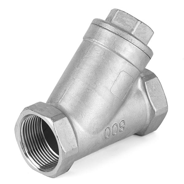 Фильтр Y-образный нержавеющий муфтовый Ру 40 AISI 304