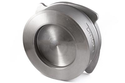 Клапан обратный нержавеющий тарельчатый Ру 40 AISI 316