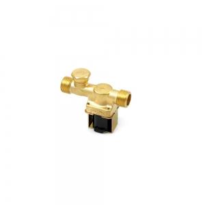 Клапан электромагнитный латунный нормально-закрытый ARM VT9174 (AC220V,  DC12V, DC24V)_2