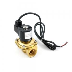 Клапан электромагнитный латунный нормально-закрытый ARM DR03 IP68 (AC220V, DC24V, DC12V)_0