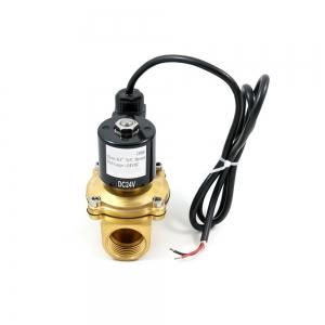 Клапан электромагнитный латунный нормально-закрытый ARM DR03 IP68 (AC220V, DC24V, DC12V)_1