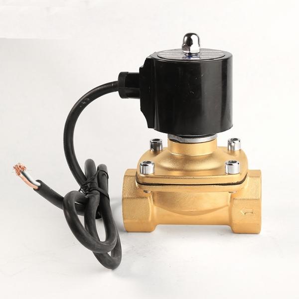 Клапан электромагнитный латунный нормально-закрытый ARM DR03 IP68 (AC220V, DC24V, DC12V)