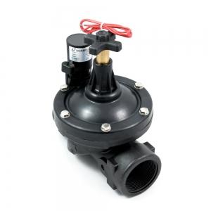 Клапан электромагнитный (соленоидный) пластиковый нормально-закрытый ARM PGV (AC220V, AC24V, DC24V, DC12V)_0