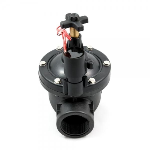 Клапан электромагнитный (соленоидный) пластиковый нормально-закрытый ARM PGV (AC220V, AC24V, DC24V, DC12V)