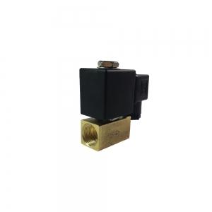 Клапан электромагнитный латунный нормально-закрытый KD2210 (DC24V)_0