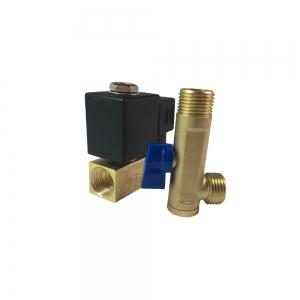 Клапан электромагнитный латунный нормально-закрытый KD2210 (DC24V)_2