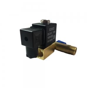 Клапан электромагнитный латунный нормально-закрытый KD2210 (DC24V)_1