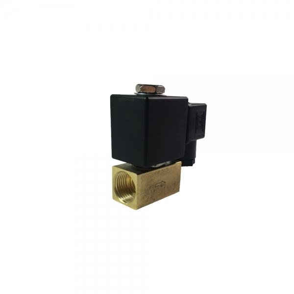 Клапан электромагнитный латунный нормально-закрытый KD2210 (DC24V)