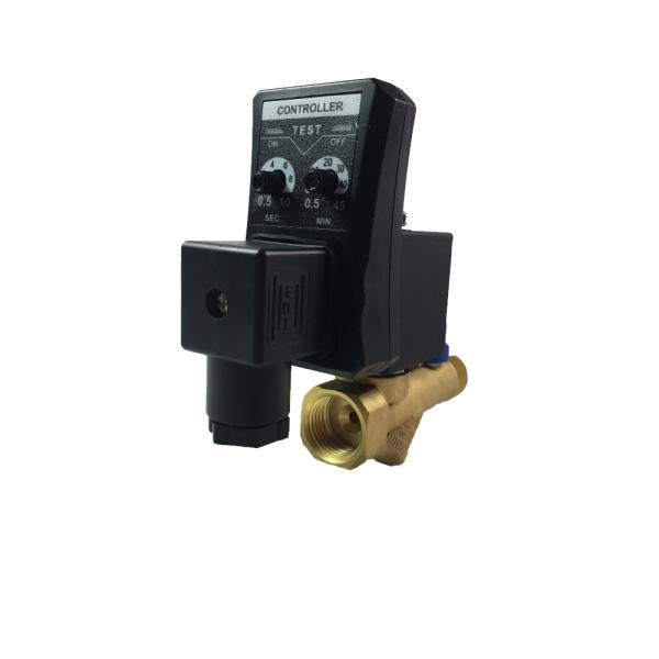 Электромагнитный конденсатотводчик нормально-закрытый с реле времени KD2211 (220V)
