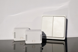 Беспроводной кинетический двойной выключатель света ArmaControl AS-6D (клавиша и блок управления)_3