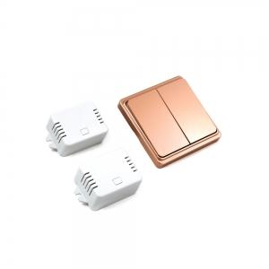 Беспроводной кинетический двойной выключатель света ArmaControl AS-6D (клавиша и блок управления)_2