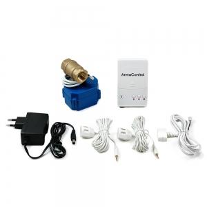 Система защиты от протечек воды ArmaControl-2 (с одним шаровым краном), управление на АА батарейках_0