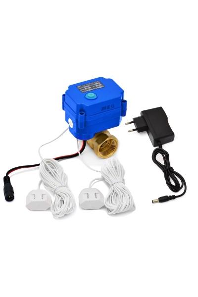 Мини-система защиты от протечек воды ArmaControl -3, один шаровый кран с 2 датчиками протечки