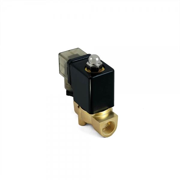 Клапан электромагнитный латунный нормально-закрытый SLP-01 (AC220V, DC24V)