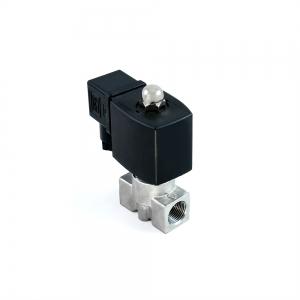 Клапан электромагнитный нержавеющий нормально-закрытый SLP-02 (AC220V, DC24V)_0