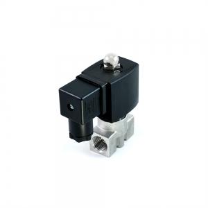 Клапан электромагнитный нержавеющий нормально-закрытый SLP-02 (AC220V, DC24V)_1