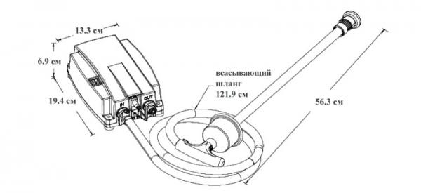 Электрическая помпа-насос для бутилированной воды 19л JAV-BV2000, 220в