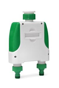 Автоматический двухканальный таймер для полива/контроллер полива/таймер на батарейках для подачи воды GA 328_1