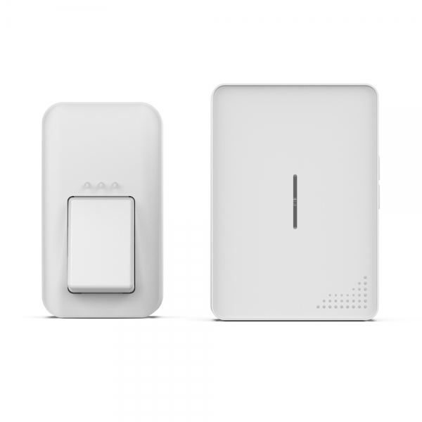 Беспроводной кинетический звонок ArmaControl AS-E2 (кнопка управления и звонок)