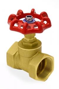 Вентиль латунный (клапан запорный) PN16 , муфтовый_1