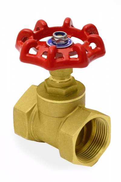 Вентиль латунный (клапан запорный) PN16 , муфтовый