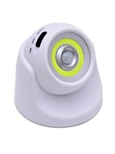 Светодиодный светильник с датчиком движения 360 градусов НайтЛайт-1, ААА батарейки, без зарядки_0