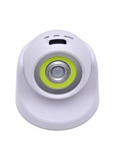Светодиодный светильник с датчиком движения 360 градусов НайтЛайт-1, ААА батарейки, без зарядки_1