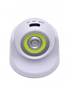Светодиодный светильник с датчиком движения 360 градусов НайтЛайт-2, ААА батарейки, с USB зарядкой_1