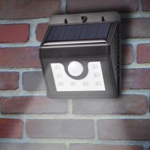 Светодиодный настенный светильник с датчиком движения на солнечной батарее НайтЛайт-3, 20 светодиодов_3