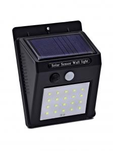 Светодиодный настенный светильник с датчиком движения на солнечной батарее НайтЛайт-3, 20 светодиодов_0