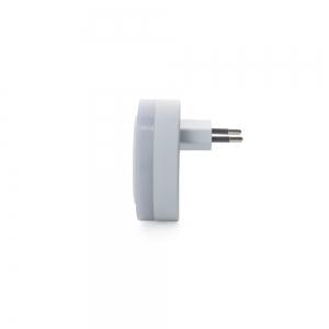 Розетка - USB хаб на 2 выхода TD-05 с датчиком света_2